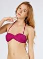 T-Box T-Box Çıkarılabilir Askılı Mor Bikini Üst Mor